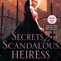 Theresa Romain's SECRETS OF A SCANDALOUS HEIRESS, Or Honeysuckle and Sandalwood